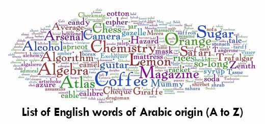 List-of-English-words-of-Arabic-origin-A-to-Z-1